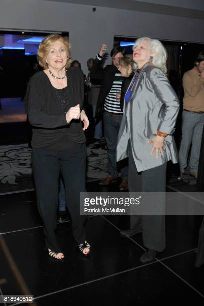 Audrey Heckler and Kendra Daniel attend PATTI SMITH Live in Concert A Benefit for The American Folk Art Museum at Espace on May 15 2010 in New York...