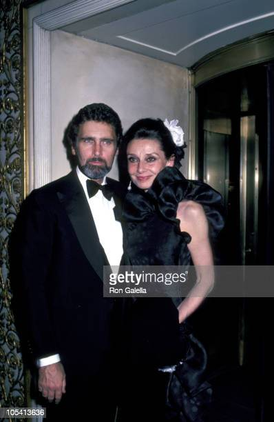 Audrey Hepburn and Husband during Herbert de Givenchy Honored at Opening of 'Givency 30 Yrs' at Fashion Institute in New York City New York United...