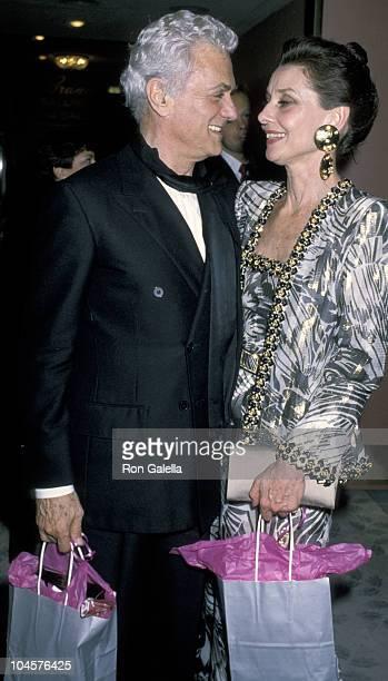 Audrey Hepburn and Tony Curtis