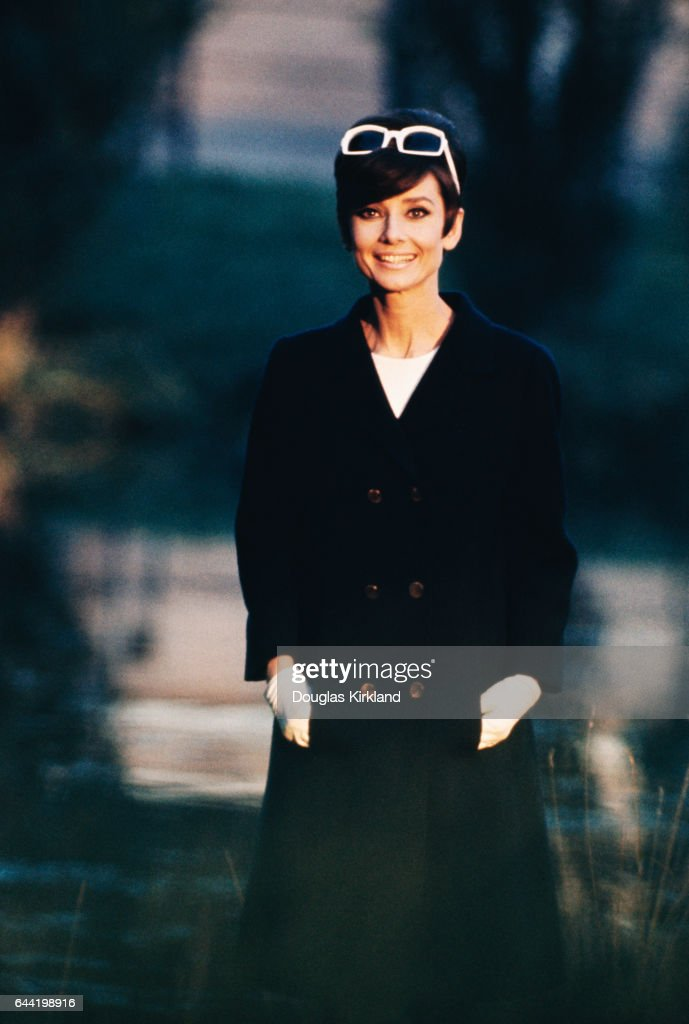Audrey Hepburn at the Studio de Boulogne, during the making of How to Steal a Million in Paris.