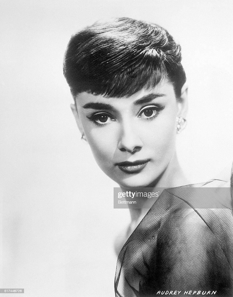 Audrey Hepburn (1929-1993) in the Playwrights' Company's 'Ondine,' directed by Alfred Lunt. Ca. 1940s-50s.