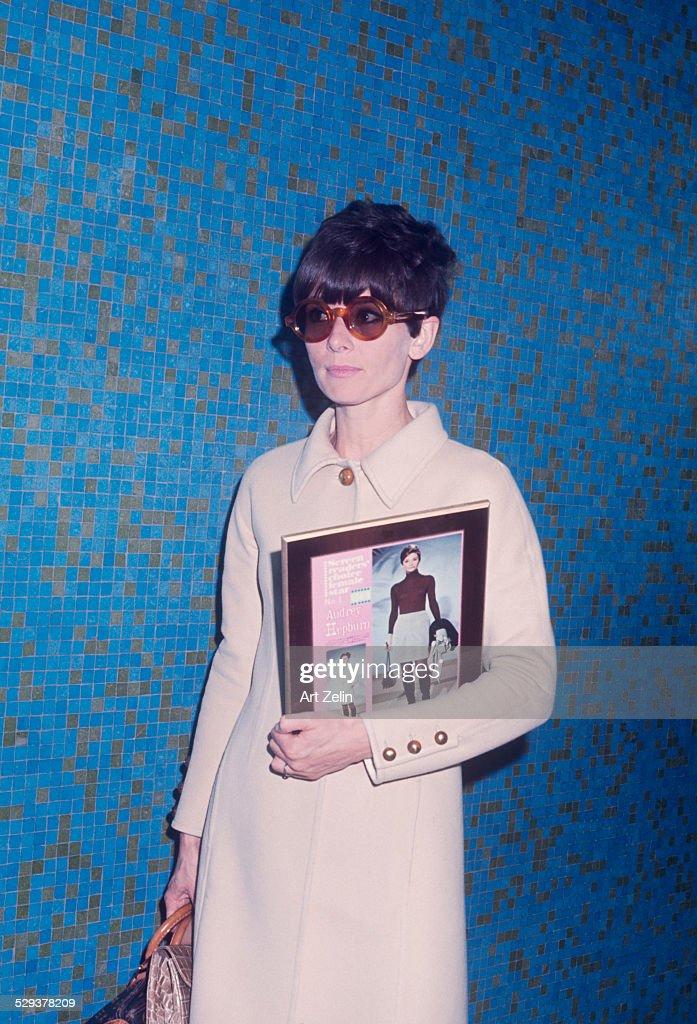Audrey Hepburn New York April 1st 1968.