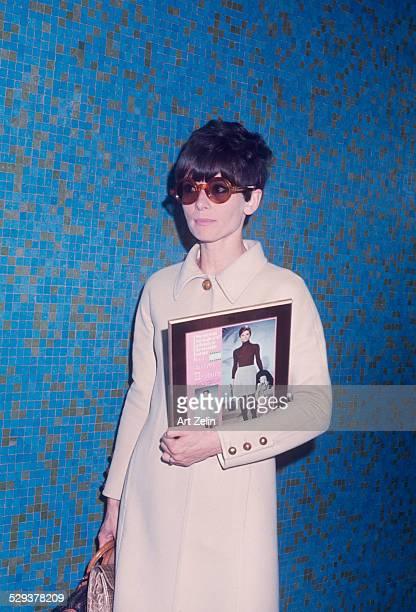 Audrey Hepburn New York April 1st 1968