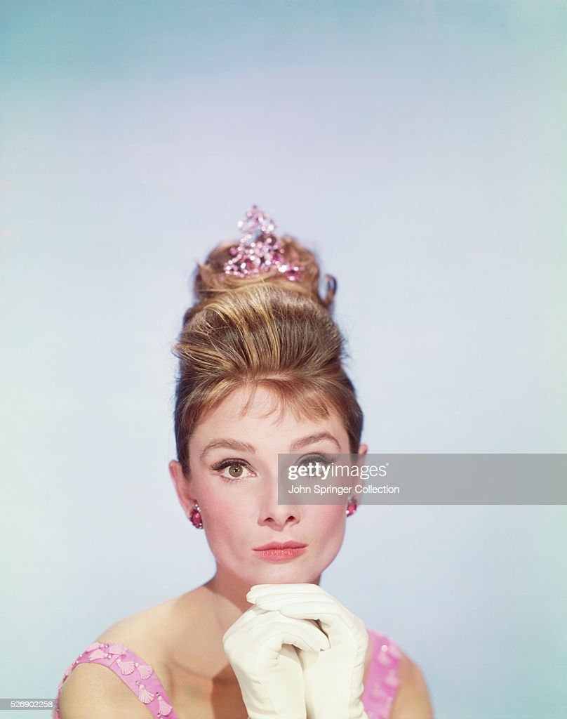 Audrey Hepburn plays Holly Golightly in the 1961 film Breakfast at Tiffany's.
