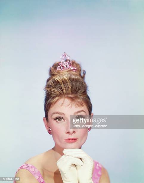 Audrey Hepburn plays Holly Golightly in the 1961 film Breakfast at Tiffany's