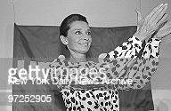 Audrey Hepburn, special ambassador for UNICEF, applauds the UN organization for children as she reports on three-day trip to drought-stricken areas...