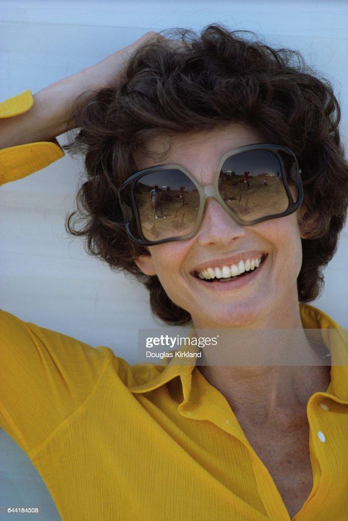 3ef462510a Audrey Hepburn Wearing Sunglasses   News Photo