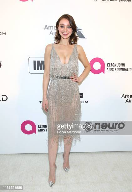 Audrey Hilfiger attends 27th Annual Elton John AIDS Foundation Academy Awards Viewing Party Celebrating EJAF And The 91st Academy Awards on February...