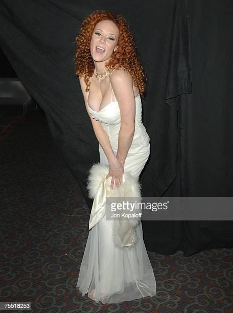 Audrey Hollander Award Winner at the 2006 AVN Awards Arrivals and Backstage at The Venetian Hotel in Las Vegas Nevada