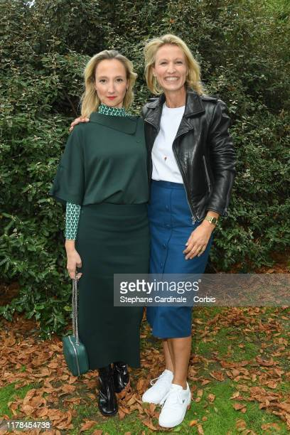 Audrey Lamy and Alexandra Lamy attend the Lacoste Womenswear Spring/Summer 2020 show as part of Paris Fashion Week on October 01 2019 in Paris France