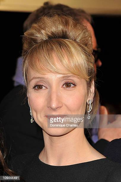 Audrey Lamy attends the 36th Cesar Film Awards at Theatre du Chatelet on February 25 2011 in Paris France