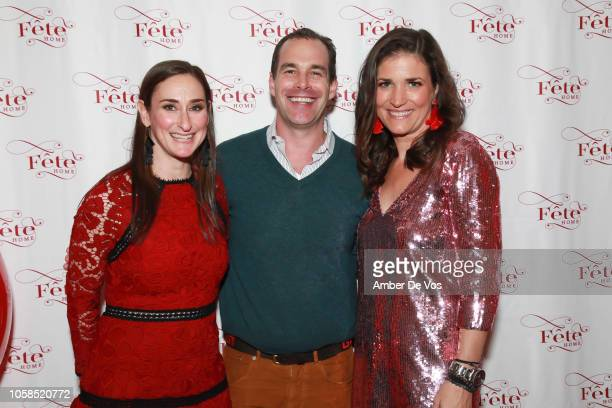 Audrey Margarite Chris Spitz Miller and Jennifer Potter attend Fall Fete for Fete Home at Midtown Loft Terrace on November 6 2018 in New York City
