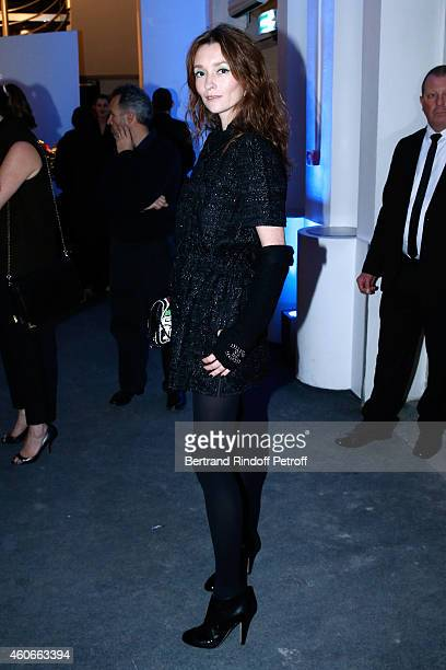 Audrey Marnay attends the Annual Charity Dinner hosted by the AEM Association Children of the World for Rwanda Held at Espace Cardin on December 18...