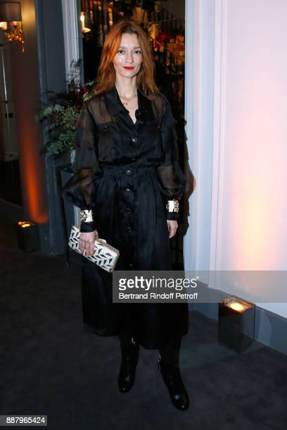 Audrey Marnay attends the Annual Charity Dinner hosted by the AEM Association Children of the World for Rwanda at Pavillon Ledoyen on December 7 2017...
