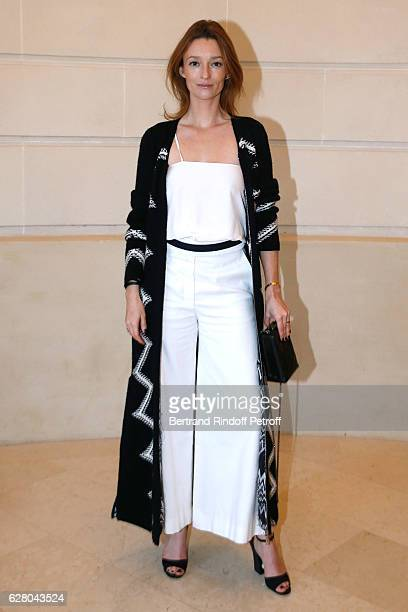 Audrey Marnay attends the 'Chanel Collection des Metiers d'Art 2016/17 Paris Cosmopolite' Photocall at Hotel Ritz on December 6 2016 in Paris France