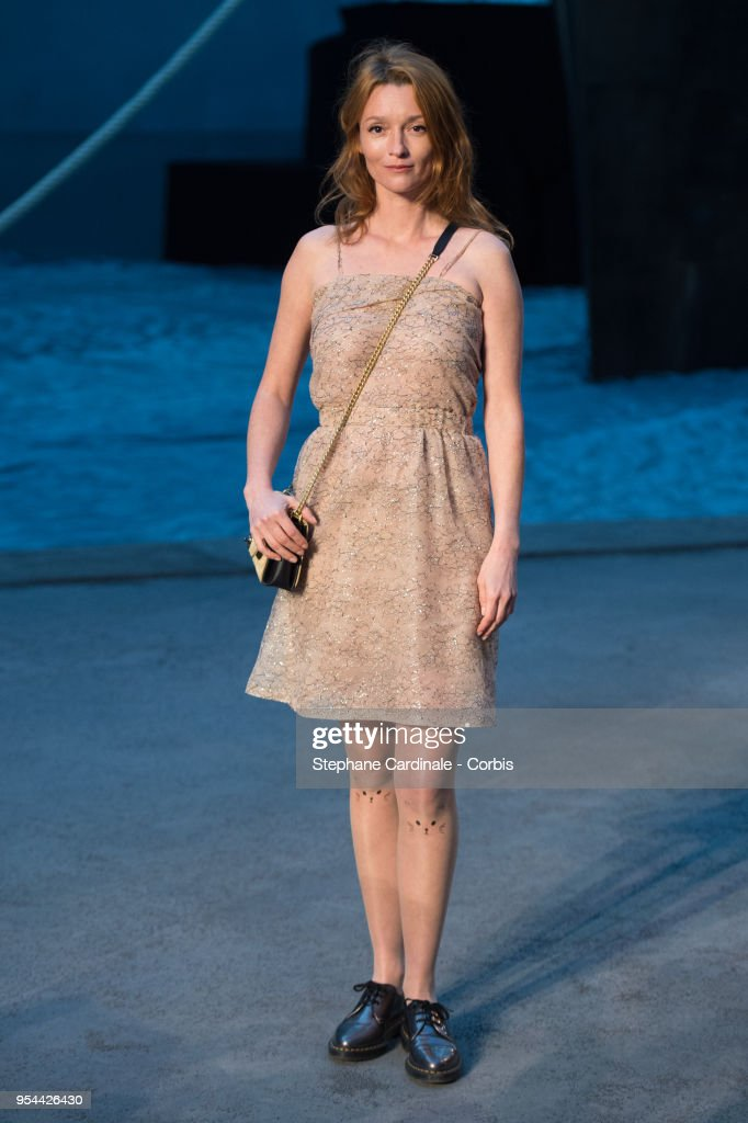 Audrey Marnay attends the Chanel Cruise 2018/2019 Collection at Le Grand Palais on May 3, 2018 in Paris, France.