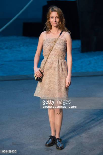 Audrey Marnay attends the Chanel Cruise 2018/2019 Collection at Le Grand Palais on May 3 2018 in Paris France