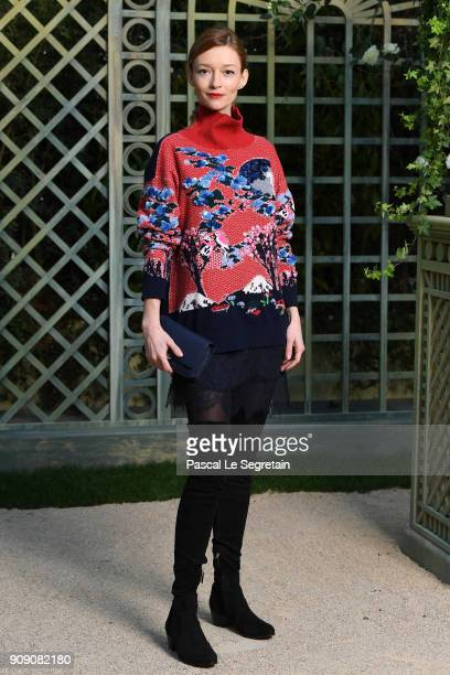 Audrey Marnay attends the Chanel Haute Couture Spring Summer 2018 show as part of Paris Fashion Week on January 23 2018 in Paris France