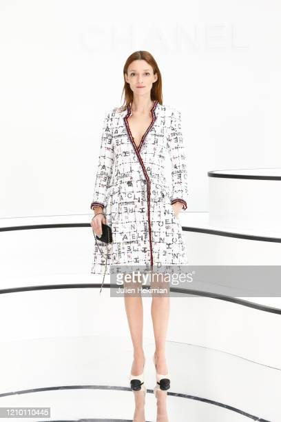 Audrey Marnay attends the Chanel show as part of the Paris Fashion Week Womenswear Fall/Winter 2020/2021 on March 03, 2020 in Paris, France.
