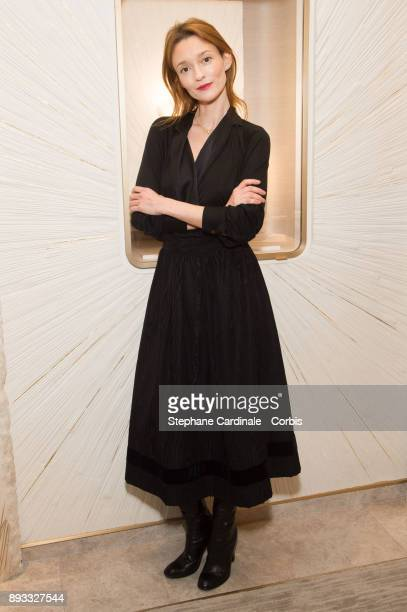Audrey Marnay attends the Chaumet Boutique Re Opening Rue Francois 1er at Rue Francois 1er on December 14 2017 in Paris France