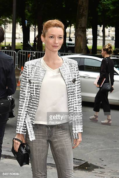 Audrey Marney attends the Chanel Haute Couture Fall/Winter 20162017 show as part of Paris Fashion Week on July 5 2016 in Paris France