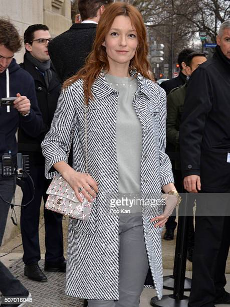 Audrey Marney attends the Chanel Haute Couture Spring Summer 2016 show as part of Paris Fashion Week on January 26 2016 in Paris France