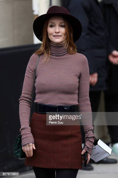 Audrey Marney attends the Chanel show as part of the Paris Fashion Week Womenswear Fall/Winter 2018/2019 on March 6 2018 in Paris France