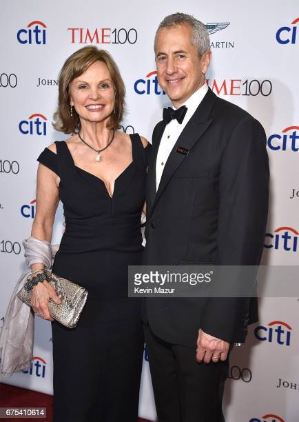 Audrey Meyer and Danny Meyer attend 2017 Time 100 Gala at Jazz at Lincoln Center on April 25 2017 in New York City