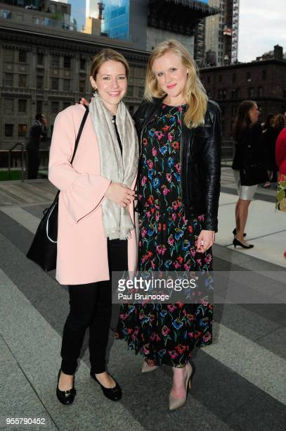 Audrey Morley and Ellie Ashford attend the 2018 Change Maker Awards at Carnegie Hall on May 7 2018 in New York City