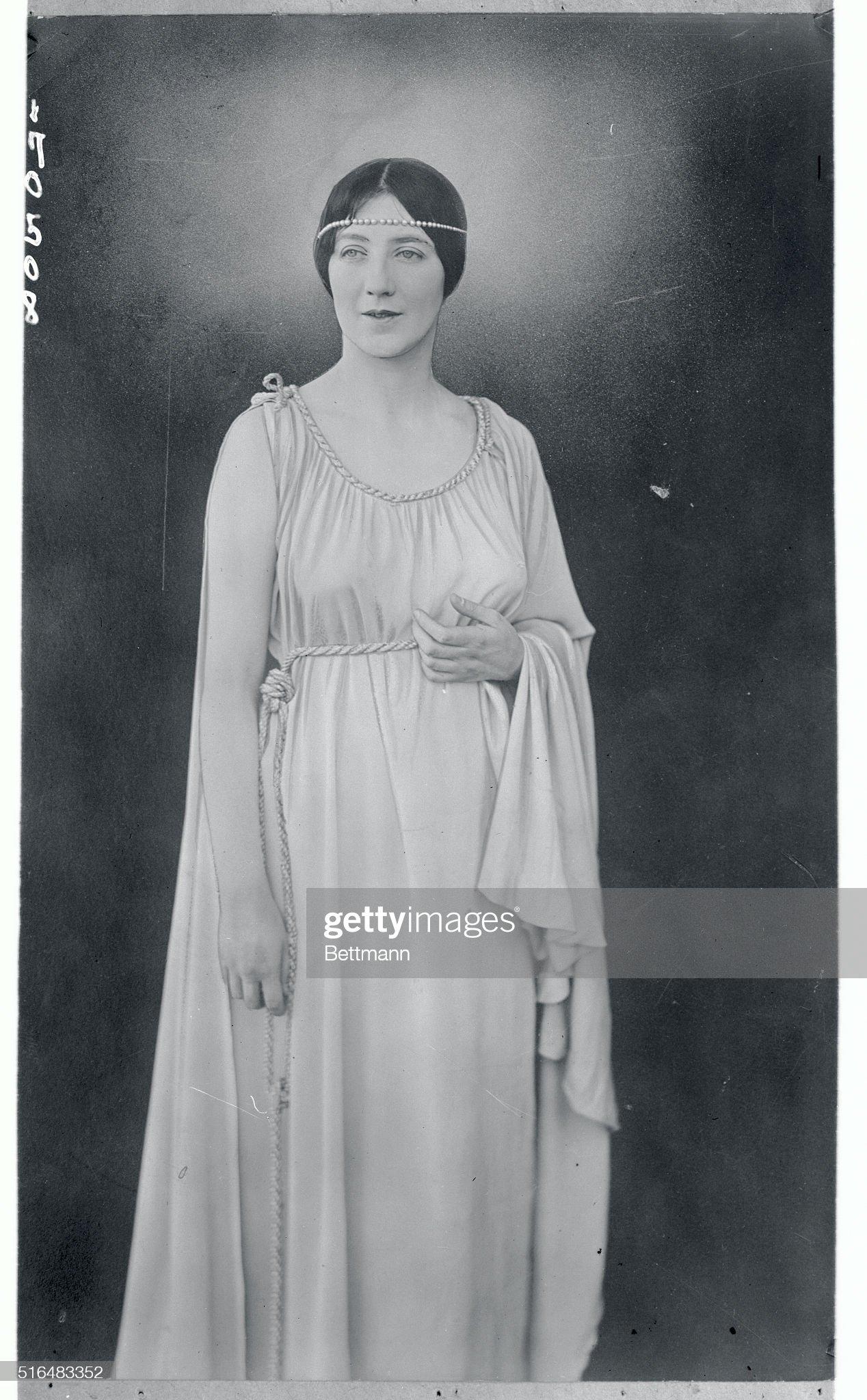 Portrait of Audrey Munson : Nachrichtenfoto