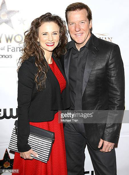 Audrey Murdick and Jeff Dunham arrive at the Hollywood Walk Of Fame Honors held at Taglyan Complex on October 25 2016 in Los Angeles California