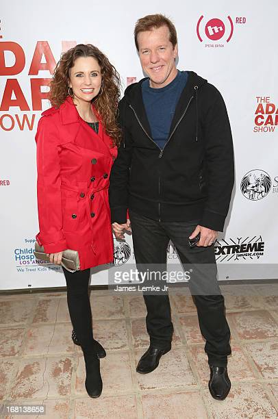 Audrey Murdick and Jeff Dunham attend Adam Carolla's Cinco De Mangria party Benefiting Children's Hospital Los Angeles on May 5 2013 in Malibu...