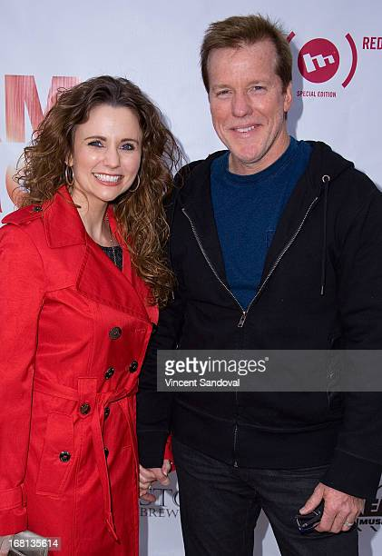 Audrey Murdick and ventriloquist Jeff Dunham attend the Cinco De Mangria party benefiting Children's Hospital Los Angeles on May 5 2013 in Malibu...