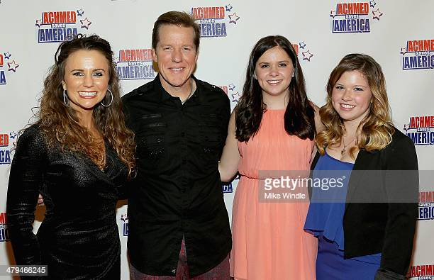 Audrey Murdick Jeff Dunham Ashlyn Dunham and Kenna Dunham attend the Achmed Saves America World Premiere at The Grove on March 18 2014 in Los Angeles...