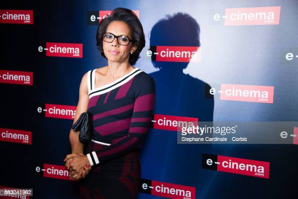 Audrey Pulvar attends 'ecinemacom' Launch Party at Restaurant L'Ile on November 30 2017 in IssylesMoulineaux France