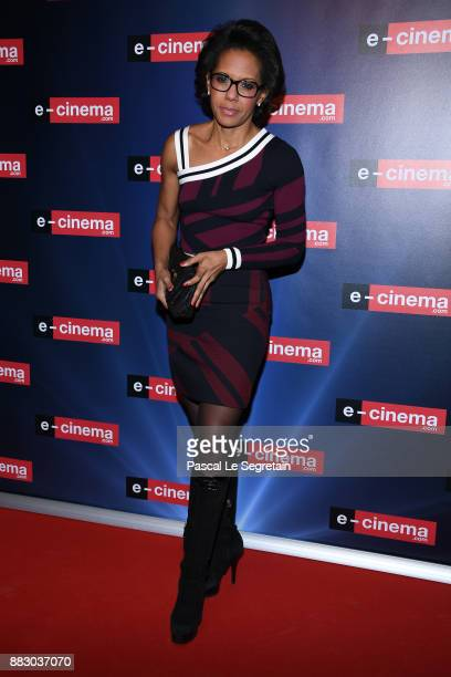 Audrey Pulvar attends ecinemacom Launch Party on November 30 2017 in IssylesMoulineaux France