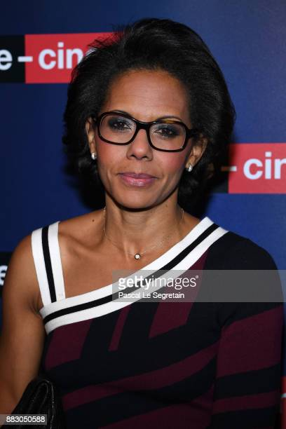 Audrey Pulvar attends 'ecinemacom' Launch Party on November 30 2017 in IssylesMoulineaux France