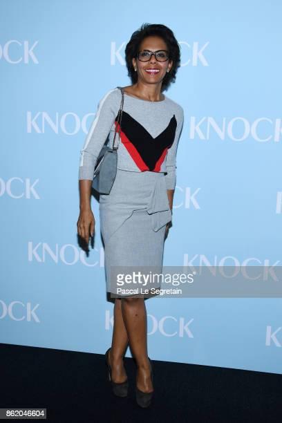 Audrey Pulvar attends 'Knock' Premiere at Cinema UGC Normandie on October 16 2017 in Paris France