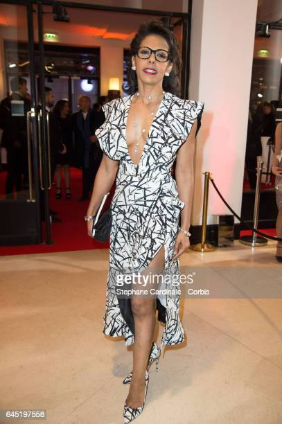Audrey Pulvar attends the Cesar Film Awards 2017 ceremony at Salle Pleyel on February 24 2017 in Paris France