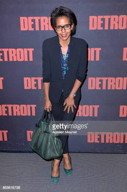 Audrey Pulvar attends the 'Detroit' Paris premiere at Cinema UGC Normandie on September 29 2017 in Paris France