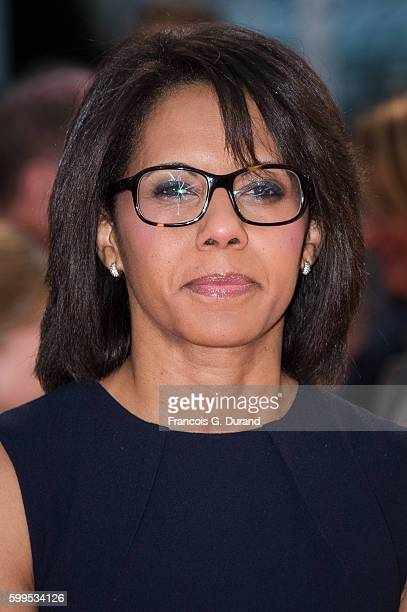 """Audrey Pulvar attends the """"In Dubious Battle"""" Premiere during the 42nd Deauville American Film Festival on September 5, 2016 in Deauville, France."""