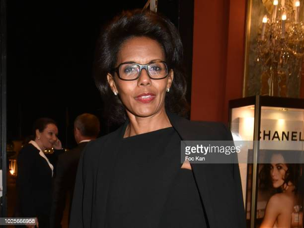 Audrey Pulvar attends the Opening Ceremony Dinner of the 44th Deauville American Film Festival on August 31 2018 in Deauville France