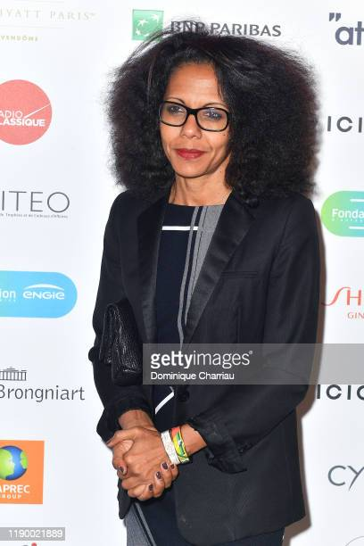 Audrey Pulvar attends the Prix De La Femme D'Influence De L'Annee at Palais Brongniart on November 25 2019 in Paris France