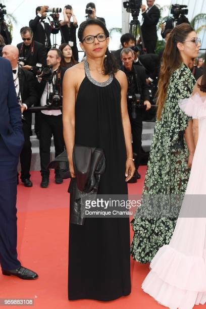 Audrey Pulvar attends the screening of The Wild Pear Tree during the 71st annual Cannes Film Festival at Palais des Festivals on May 18 2018 in...
