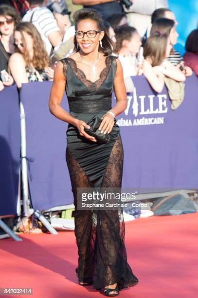 Audrey Pulvar attends the Tribute to Robert Pattinson and Good Time Premiere during the 43rd Deauville American Film Festival on September 2 2017 in...