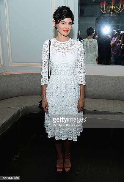 Audrey Tautou attends 'Magic In The Moonlight' premiere after party at Harlow on July 17 2014 in New York City