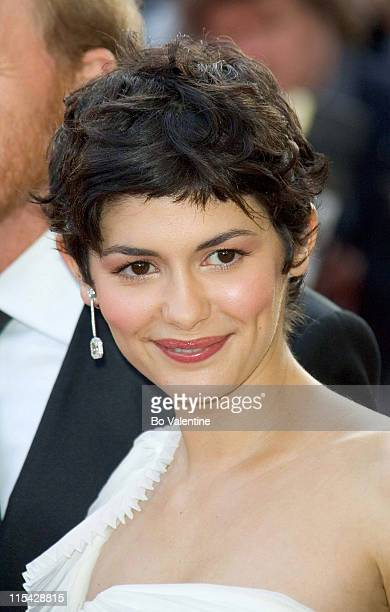 Audrey Tautou during 2006 Cannes Film Festival Opening Night Gala and World Premiere of The Da Vinci Code Arrivals at Palais du Festival in Cannes...