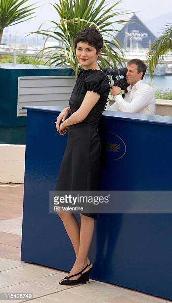 "Audrey Tautou during 2006 Cannes Film Festival - ""The Da Vinci Code"" Photo Call at Palais du Festival in Cannes, France."