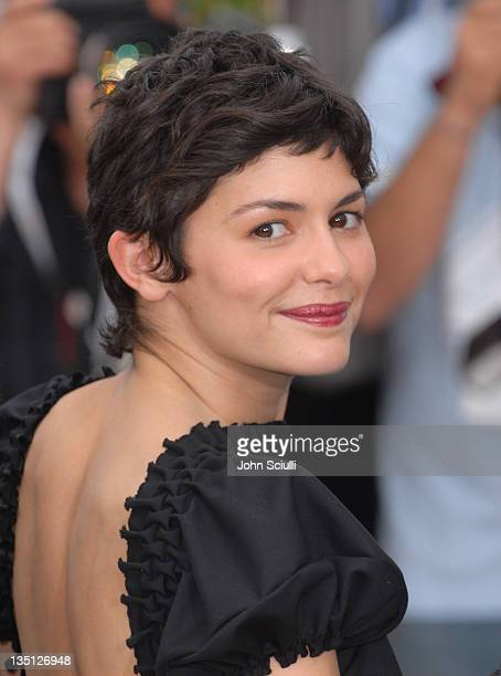 Audrey Tautou during 2006 Cannes Film Festival The Da Vinci Code Photo Call at Palais du Festival in Cannes France France