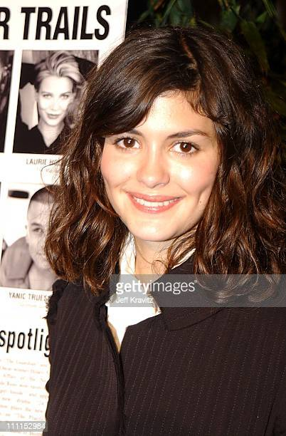 Audrey Tautou during Audrey Tatou at the Variety Top 10 in Los Angeles California United States